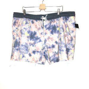 Original Use tie dye swim shorts XXL NWOT suit